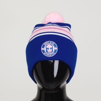 Pink Bobble Hat