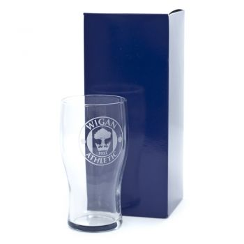 Engraved Pint Glass