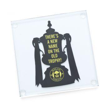 FA Cup Coaster