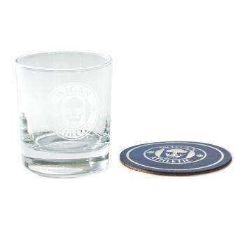 Whiskey Glass & Coaster set
