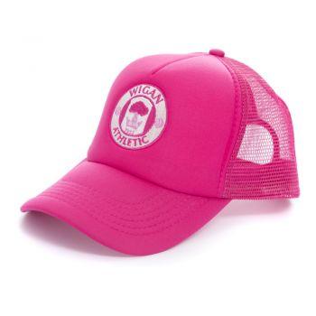 Pink Crest Cap