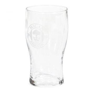 Crest Pint Glass