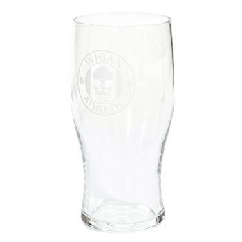 Crest Half Pint Glass