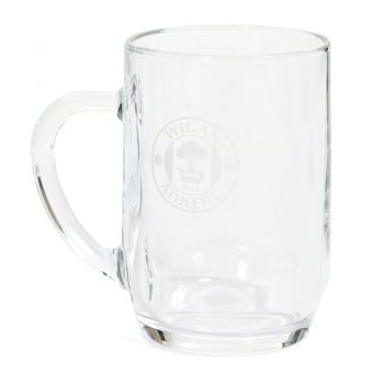 Crest Glass Tankard