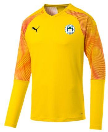 Yellow Goalkeeper Shirt