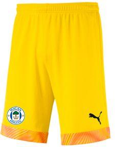 Yellow Goalkeeper Shorts