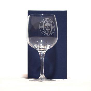 Crest Gin Glass