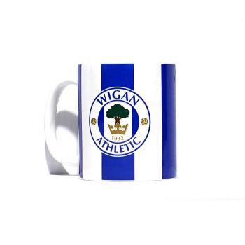 Striped Crest Mug