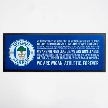 We Are Wigan Bar Runner